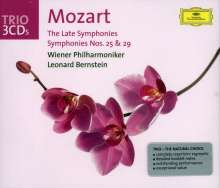 Wolfgang Amadeus Mozart (1756-1791): Symphonien Nr.25,29,35,36,38-41, 3 CDs