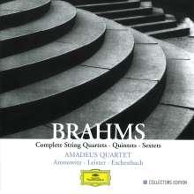 Johannes Brahms (1833-1897): Streichquartette Nr.1-3, 5 CDs