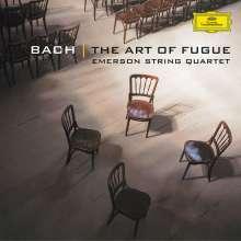 Johann Sebastian Bach (1685-1750): Die Kunst der Fuge BWV 1080 für Streichquartett, CD
