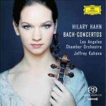Johann Sebastian Bach (1685-1750): Violinkonzerte BWV 1041-1043,1060, Super Audio CD