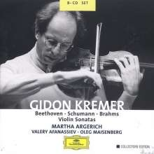 Gidon Kremer spielt Violinsonaten, 8 CDs