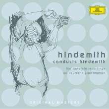 Paul Hindemith (1895-1963): Hindemith dirigiert Hindemith - Die kompletten DGG-Aufnahmen, 3 CDs