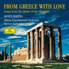 Agnes Baltsa - From Greece with Love, CD