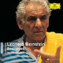 Leonard Bernstein - The Beethoven Symphonies (DG Recordings), 5 CDs