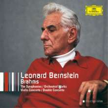 Leonard Bernstein - The DG Brahms Recordings, 5 CDs