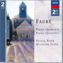 Gabriel Faure (1845-1924): Klavierquartette Nr.1 & 2, 2 CDs
