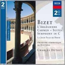 Georges Bizet (1838-1875): Symphonie C-dur, 2 CDs
