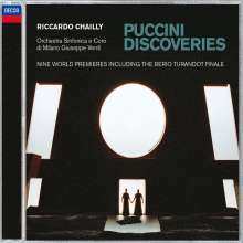 Giacomo Puccini (1858-1924): Puccini Discoveries, CD