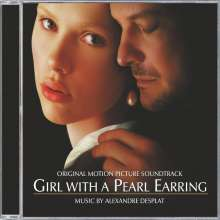 Alexandre Desplat (geb. 1961): Filmmusik: Girl With A Pearl Earring, CD