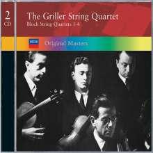Ernest Bloch (1880-1959): Streichquartette Nr.1-4, 2 CDs
