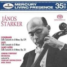 Janos Starker spielt Cellokonzerte, Super Audio CD