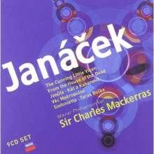 Leos Janacek (1854-1928): Sir Charles Mackerras dirigiert Janacek, 9 CDs