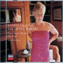 Franz Xaver Mozart (1791-1844): Lieder, CD