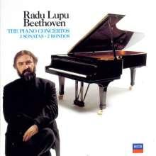 Radu Lupu plays Beethoven, 4 CDs