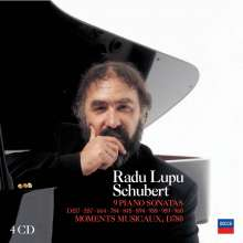 Radu Lupu plays Schubert, 4 CDs