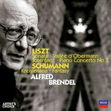 Alfred Brendel plays Liszt & Schumann, 2 CDs