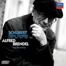 Alfred Brendel plays Schubert, 2 CDs