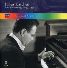 Julius Katchen - Decca Recordings 1949-1968, 8 CDs
