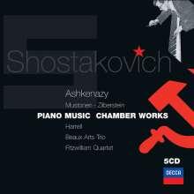Dmitri Schostakowitsch (1906-1975): Kammermusik & Klavierwerke, 5 CDs