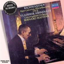 Sergej Rachmaninoff (1873-1943): Klavierkonzerte Nr.2 & 4, CD