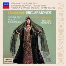 Jules Massenet (1842-1912): Esclarmonde, 3 CDs