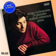 Sergej Rachmaninoff (1873-1943): 24 Preludes (Gesamtaufnahme), CD