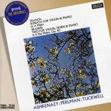 Cesar Franck (1822-1890): Sonate für Violine & Klavier A-Dur, CD