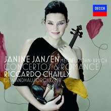 Janine Jansen - Violinkonzerte von Mendelssohn & Bruch, CD