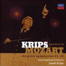 Wolfgang Amadeus Mozart (1756-1791): Symphonien Nr.21-41, 6 CDs