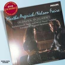 Martha Argerich & Nelson Freire, CD