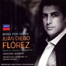 Juan Diego Florez - Arias For Rubini, CD