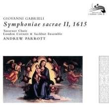 Giovanni Gabrieli (1557-1612): Symphoniae Sacrae II (1615), CD