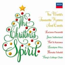 The Christmas Spirit - The World's Favourite Hynms & Carols, 2 CDs