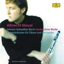 Albrecht Mayer - Lieder ohne Worte (Bach für Oboe & Orch.), CD