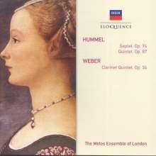 Johann Nepomuk Hummel (1778-1837): Septett op.74, CD