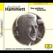 Hammett,Dashiell:Das goldene Hufeisen, 2 CDs