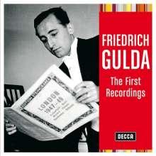 Friedrich Gulda - The first Recordings, CD