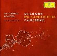 Kolja Blacher spielt Violinkonzerte, CD