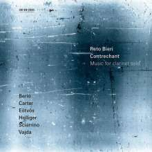 Reto Bieri - Contrechant (Werke für Klarinette solo), CD
