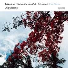 Duo Gazzana - Takemitsu/Hindemith/Janacek, CD