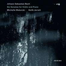 Johann Sebastian Bach (1685-1750): Sonaten für Violine & Klavier BWV 1014-1019, 2 CDs