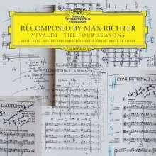"""Antonio Vivaldi (1678-1741): Concerti op.8 Nr.1-4 """"Die vier Jahreszeiten"""" (Recomposed by Max Richter), CD"""