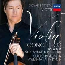 Giovanni Battista Viotti (1755-1824): Violinkonzerte Nr.22 & 24, CD