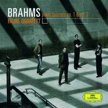 Johannes Brahms (1833-1897): Klavierquartette Nr.1 & 3, CD