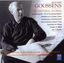 Eugene Goossens (1893-1962): Orchesterwerke, 3 CDs