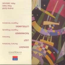 Ernst von Dohnanyi (1877-1960): Variationen über ein Kinderlied für Klavier & Orchester op. 25, CD