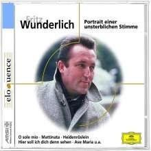 Fritz Wunderlich - Portrait einer unsterblichen Stimme, CD