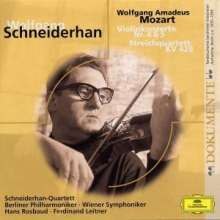 Wolfgang Amadeus Mozart (1756-1791): Violinkonzerte Nr.4 & 5, CD