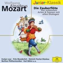Mozarts Zauberflöte für Kinder, CD