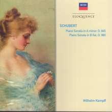 Franz Schubert (1797-1828): Klaviersonaten D.845 & D.960, CD
